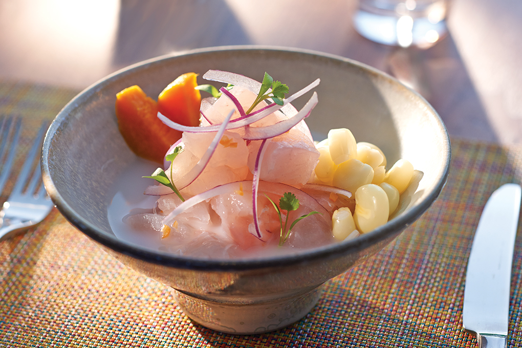Global awareness has awakened American palates, making the way for dishes like Cebiche Classico at Peruvian restaurant La Mar in Miami.