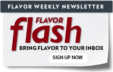 Flavor Weekly Newsletter Sign Up