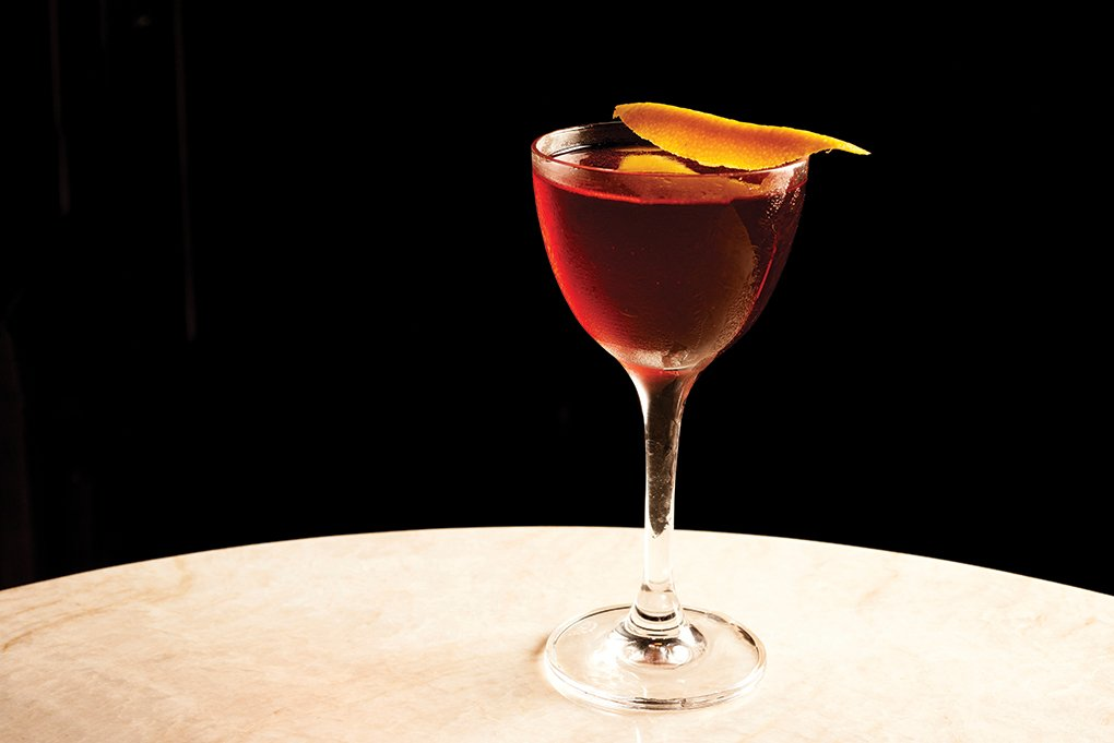 Classic cocktails like the Negroni are celebrated anew. They're a perfect match for the revival of the steakhouse, like this one served at Diplomat Prime in Hollywood, Fla.