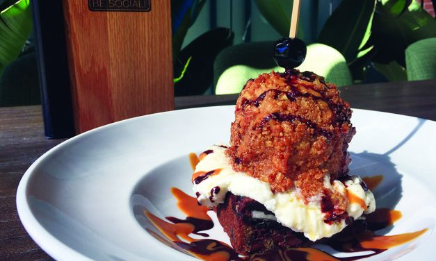 """<span class=""""entry-title-primary"""">Field Notes: Modern Sundaes</span> <span class=""""entry-subtitle"""">Chefs are upping the flavor and textural ante, choosing intriguing combinations and pulling in on-trend ingredients</span>"""