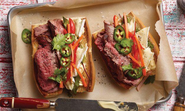 Aussie Grassfed Beef Banh Mi