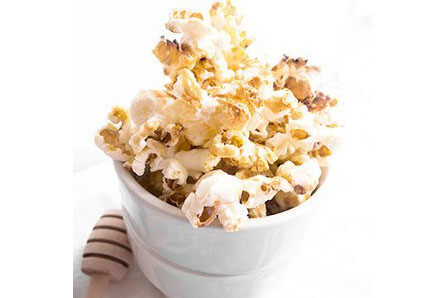 Honey Whiskey Popcorn