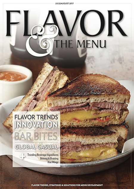 July-August issue of Flavor & the Menu cover