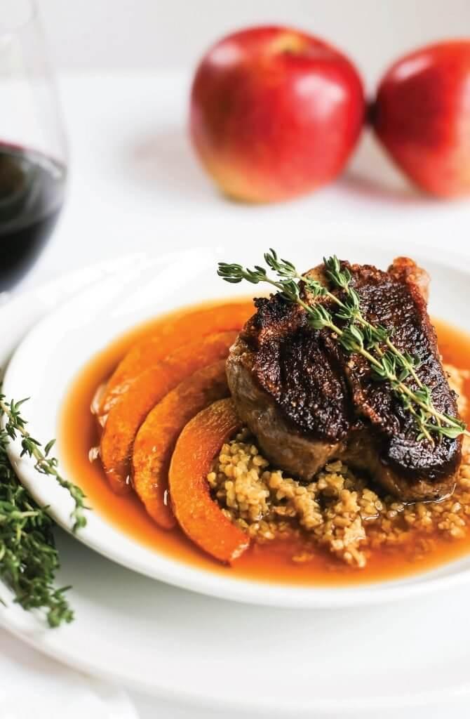 Good Use of Jus: U.S. Apple Association & Piedmont Restaurant | Durham, N.C.