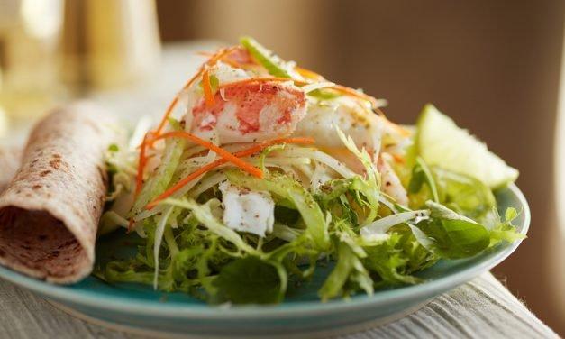 Ceviche-Style Sole & Snow Crab Salad