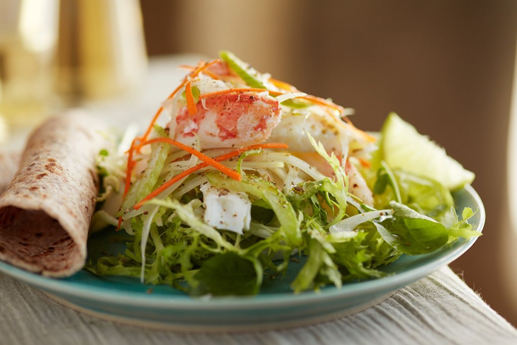 Picture for Ceviche-Style Sole & Snow Crab Salad