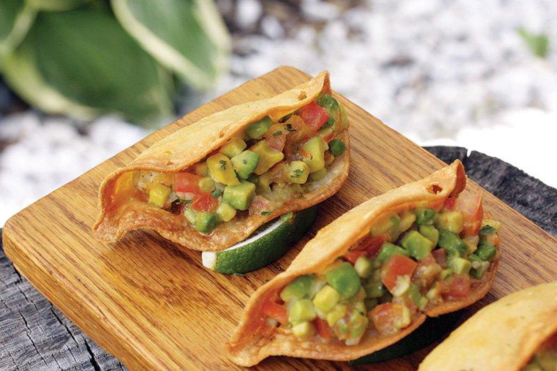 A Toda Madre in Glen Ellyn, Ill., serves Pescadilla Tacos, with shredded swordfish, epazote and an avocado-habanero pico tucked into crisp tortillas.