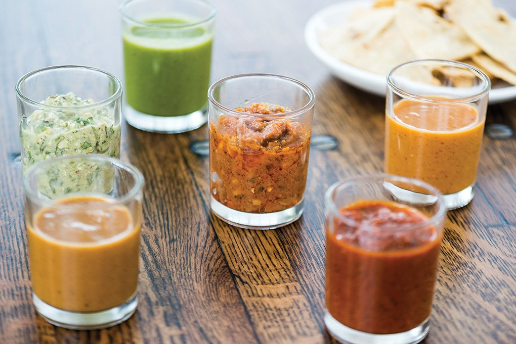 In Washington, D.C., Espita Mezcaleria invites diners to try new flavors—such as a selection of adventurous salsas—and to dive into shareable dishes, a hallmark of the Millennial generation.