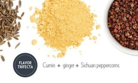 "<span class=""entry-title-primary"">Flavor Trifecta: Sam Kim</span> <span class=""entry-subtitle"">Cumin + ginger + Sichuan peppercorns</span>"