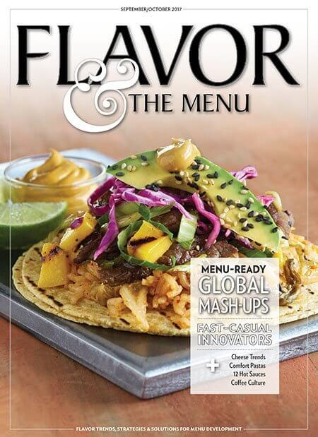 Sept-Oct issue of Flavor & the Menu cover