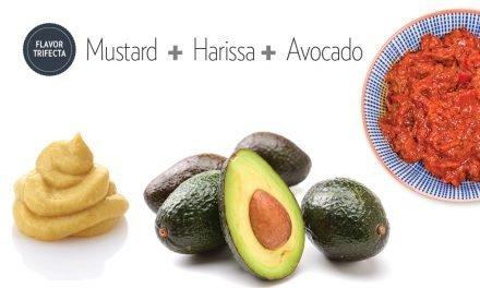 """<span class=""""entry-title-primary"""">Flavor Trifecta: Kevin Atkinson</span> <span class=""""entry-subtitle"""">Mustard  +  Harissa +  Avocado</span>"""