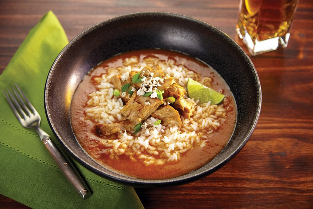 A modern take on a Filipino stew, this SoCal Pork Caldera is hearty, flavorful and versatile.