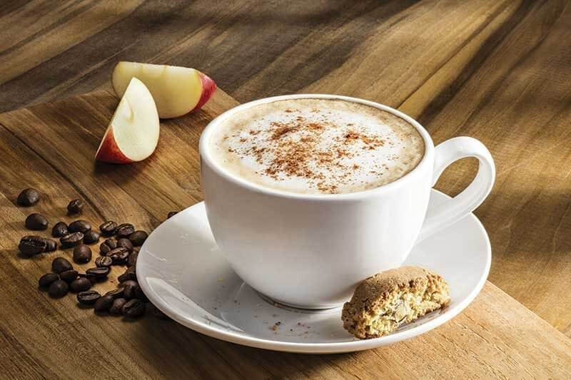 Olive Garden's Caramel Apple Butter Latte combines espresso with caramel apple butter, steamed milk and cinnamon, creating a comforting yet unique drink.