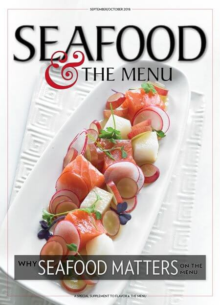 Seafood & the Menu cover