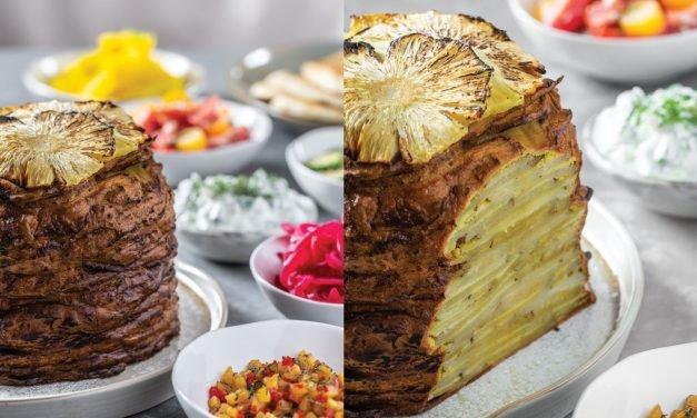 Roasted Lebanese Potato Shawarma