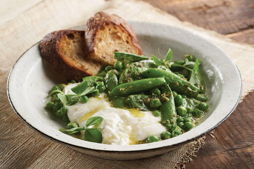Picture for Charred Spring Peas