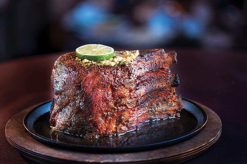 Prime pork chop