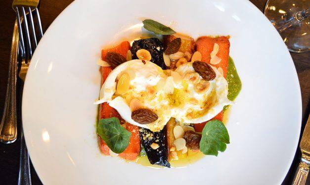 "<span class=""entry-title-primary"">Flavor Composition: Burrata + Carrots</span> <span class=""entry-subtitle"">Chef Francesco DiCaudo makes burrata a star of the season </span>"