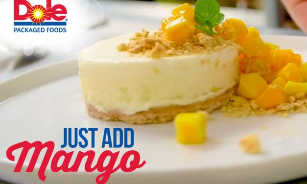 """<span class=""""entry-title-primary"""">Just Add Mango!</span> <span class=""""entry-subtitle"""">Deliver a burst of color and flavor to the menu with ease</span>"""