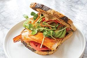 Smoked Turkey Sandwich photo