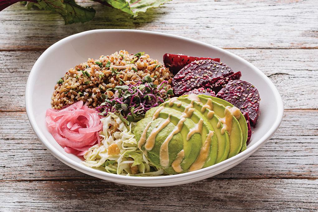 Beets + Avocado Bowl photo