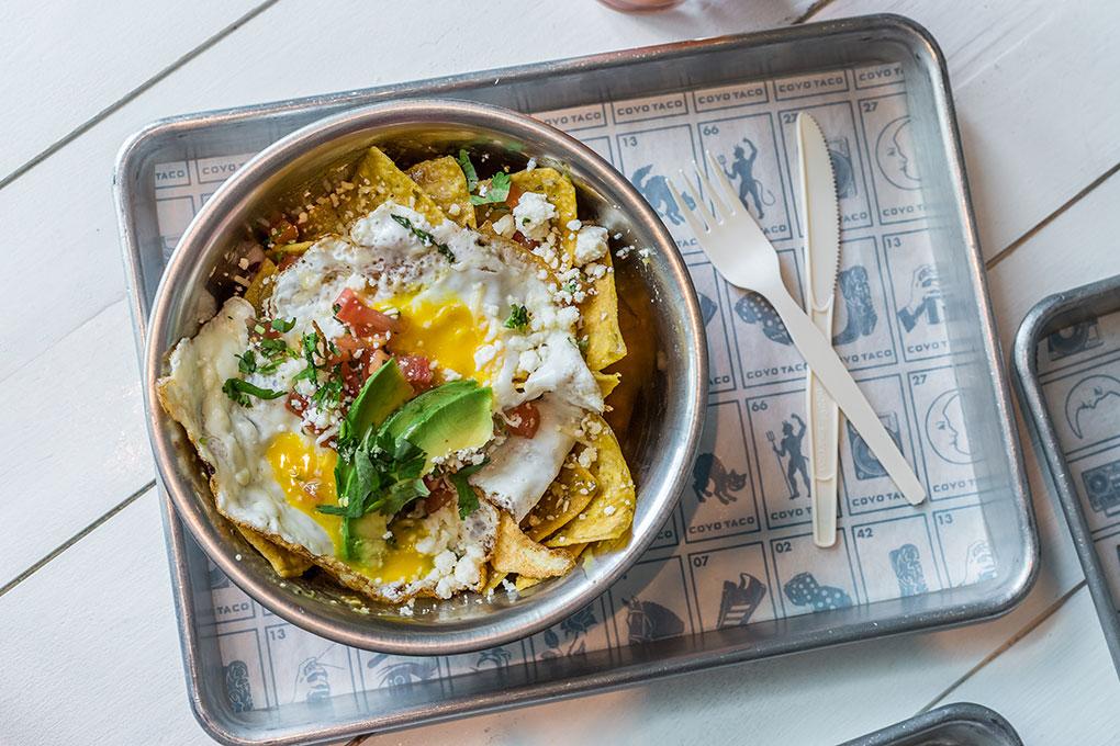 Brunch Chilaquiles con Huevos photo