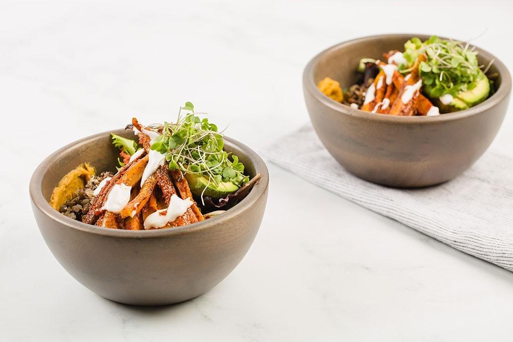 Spicy Carrot Buddha Bowl photo