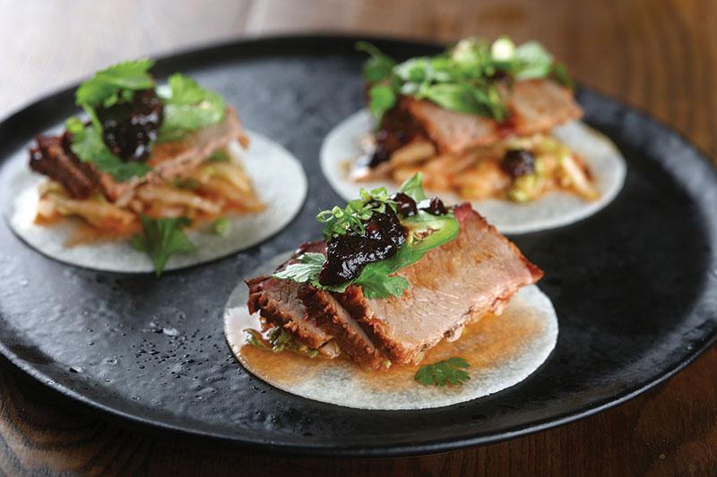 Korean Brisket Tacos