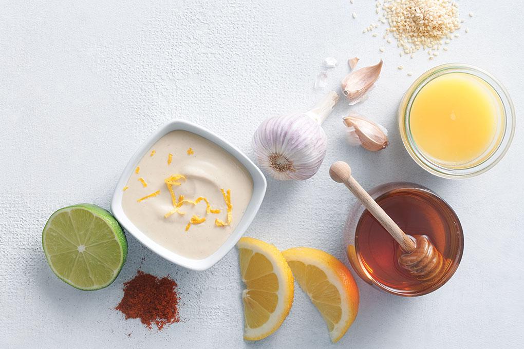 Zesty Honey Citrus Tahini