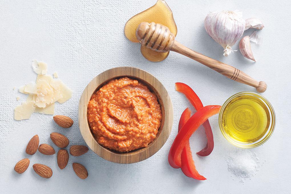 Honey Harissa Pesto Sauce