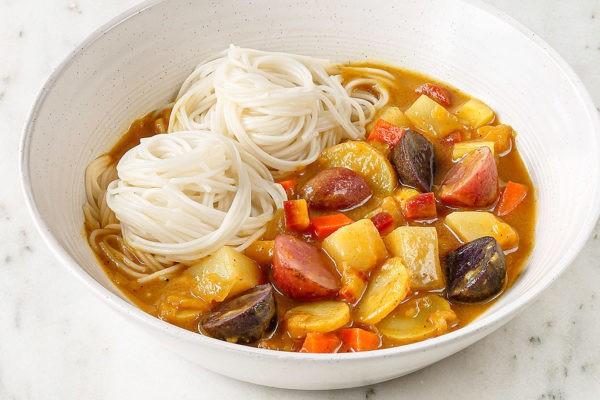 Idaho Potato Curry & Noodles