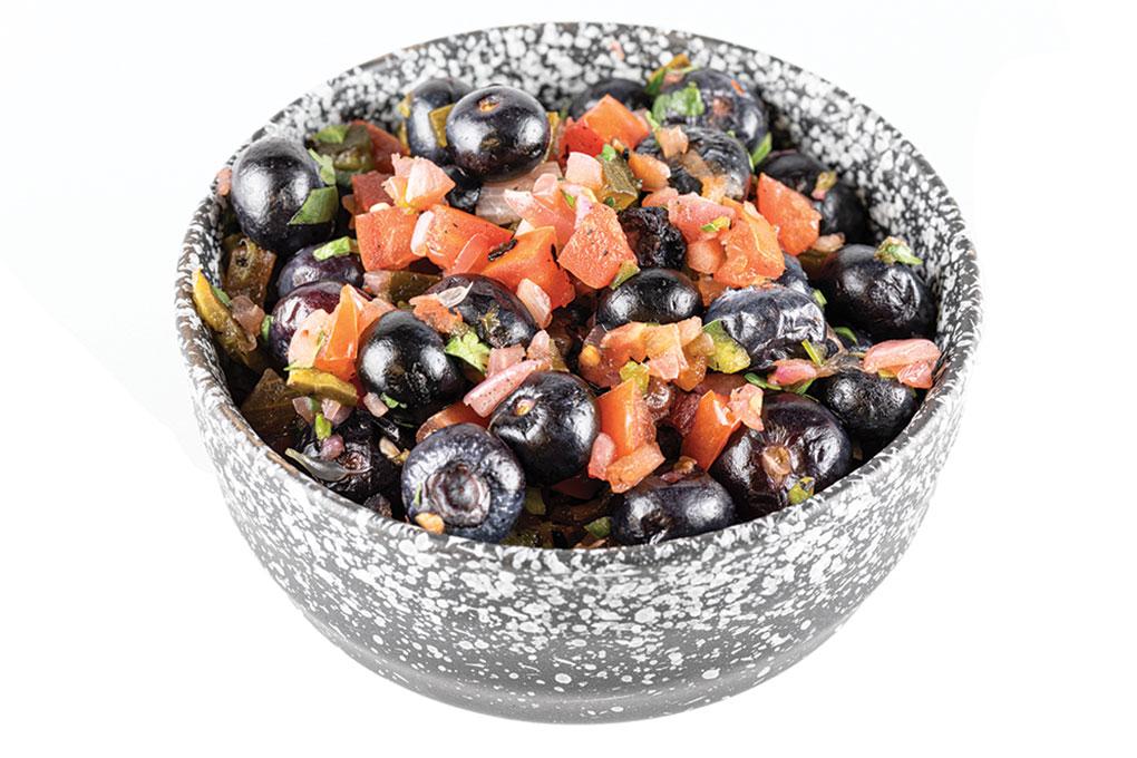 Smoked Blueberry & Jalapeño Salsa
