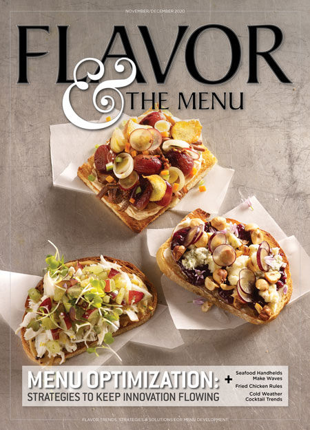 November-December 2020 issue of Flavor & The Menu