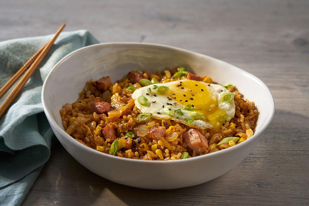 Korean Spam Fried Rice