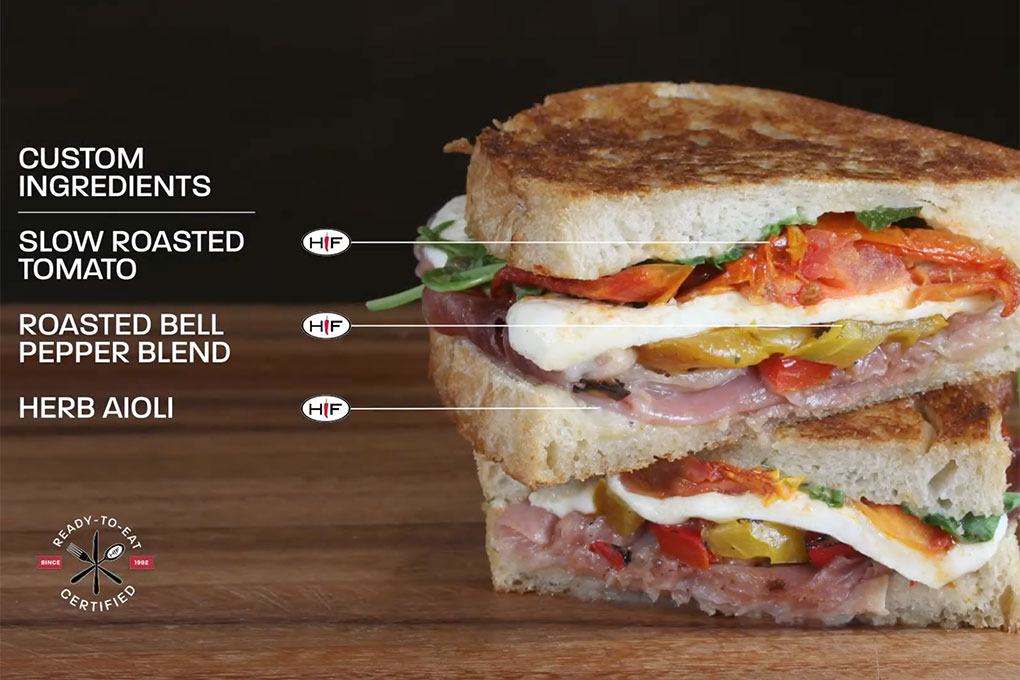 Picture for Prosciutto Sandwich with Slow Roasted Tomatoes
