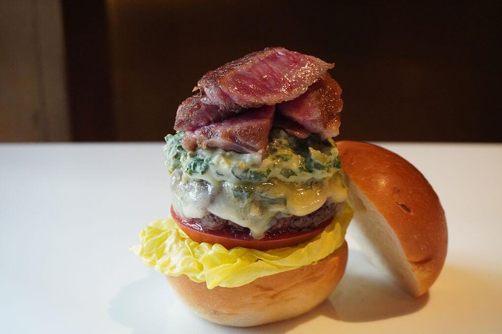Picture for Miyazaki A5 Wasabi Steak Burger