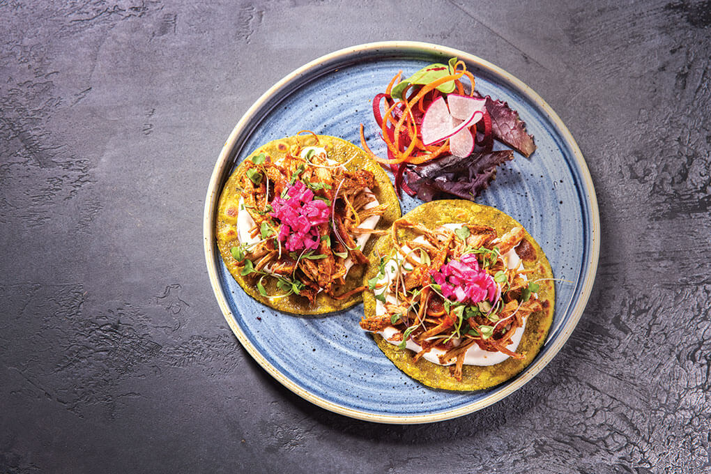Picture for Pulled Pork Thepla Tacos