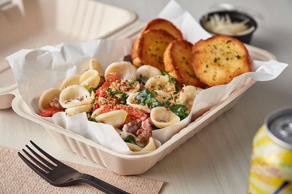 Picture for Barilla Sausage & Spinach Orecchiette
