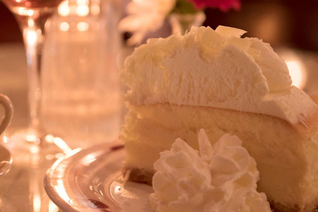 Picture for White Chocolate Amaretto Cheesecake