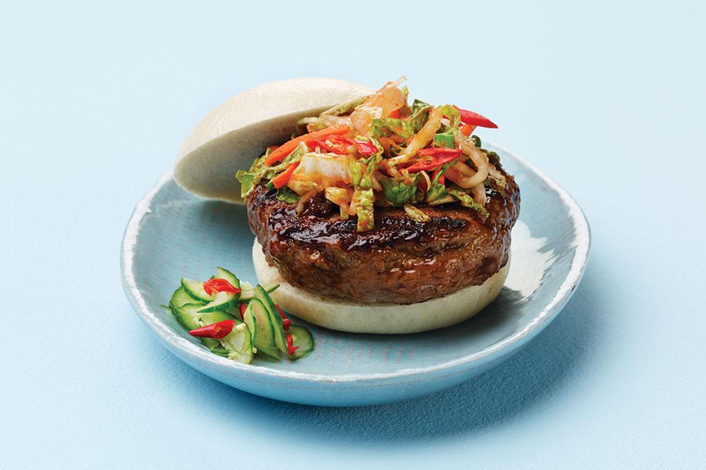 Kimchi Turkey Burger