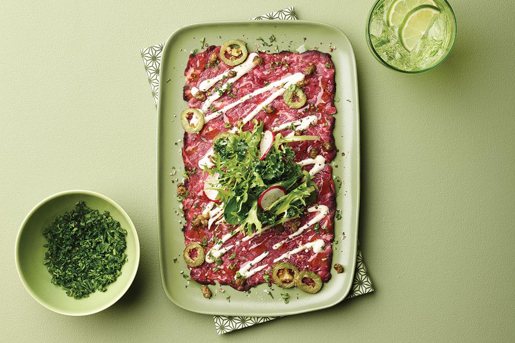 Picture for Australian Grass-fed Beef Carpaccio Recipe
