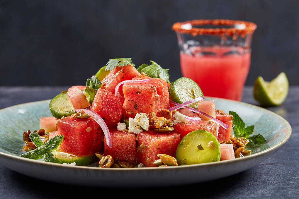 Picture for Smoked Watermelon Salad